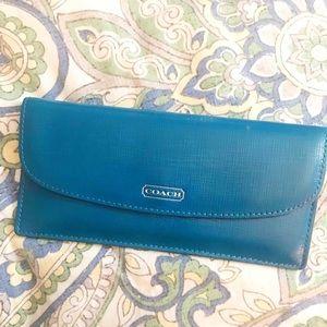Saffiano Coach wallet